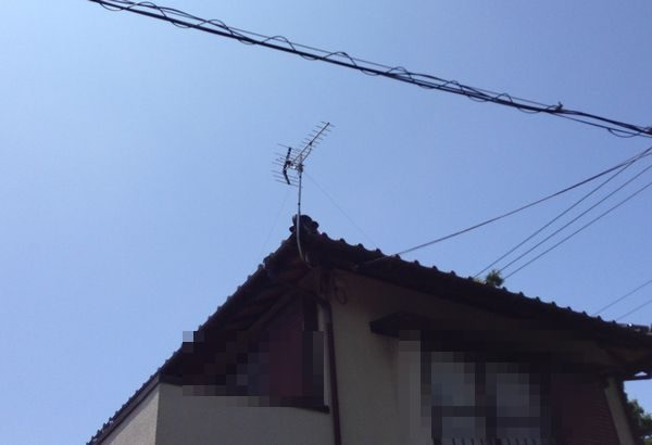 清水町、地デジアンテナ、UHFアンテナ、アンテナ工事
