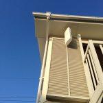 三島市中古住宅に平面アンテナ取付