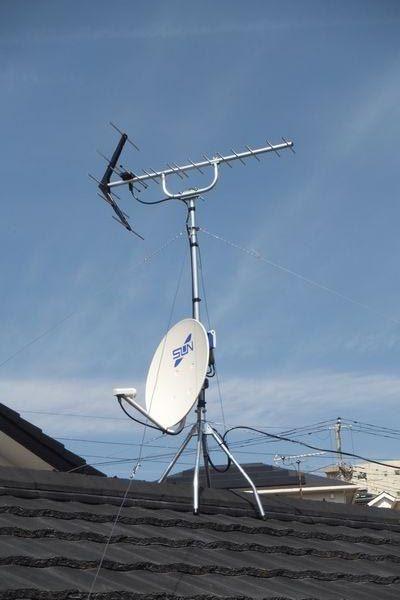 三島市ケーブルテレビ解約アンテナ工事