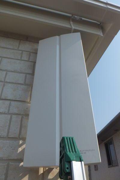 富士市中野飯田産業アンテナ工事