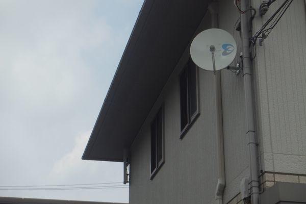 御殿場市川島田デザインアンテナBSアンテナ
