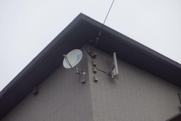 長泉町平面アンテナBSアンテナ取付