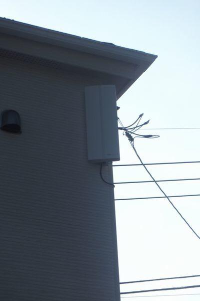 三島市新谷平面アンテナ取り付け工事