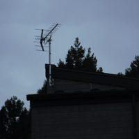 御殿場市印野新築アンテナ工事