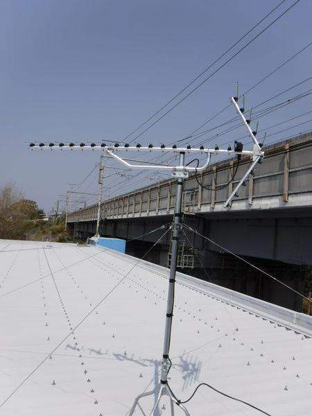 沼津市マンションアンテナ工事