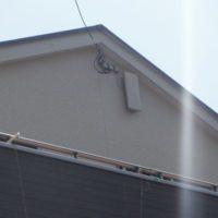 三島市徳倉平面アンテナ取付工事