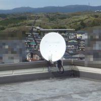 函南町平井アンテナ移設工事