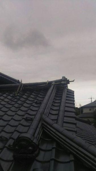 御殿場市中清水アンテナ倒壊