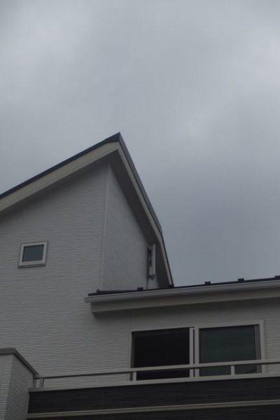 函南町肥田平面アンテナ取り付け工事