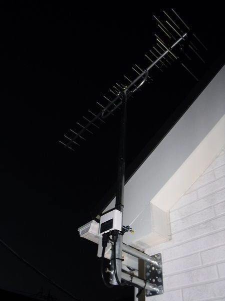 御殿場市萩原アンテナ工事