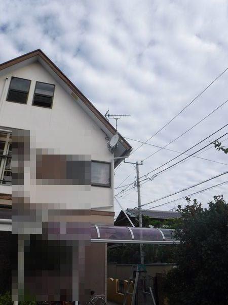 三島市日ノ出町アンテナ工事