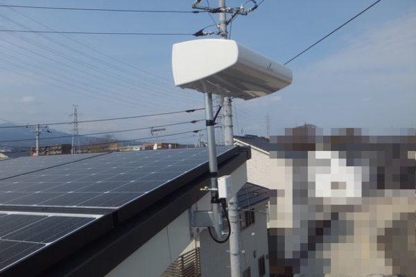 三島市萩アンテナ工事