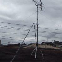 函南町平井アンテナ工事