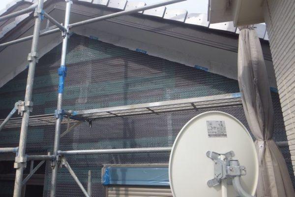 三島市加屋町BSアンテナ移設工事