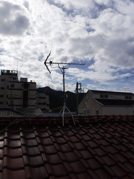 伊豆市土肥アンテナ工事