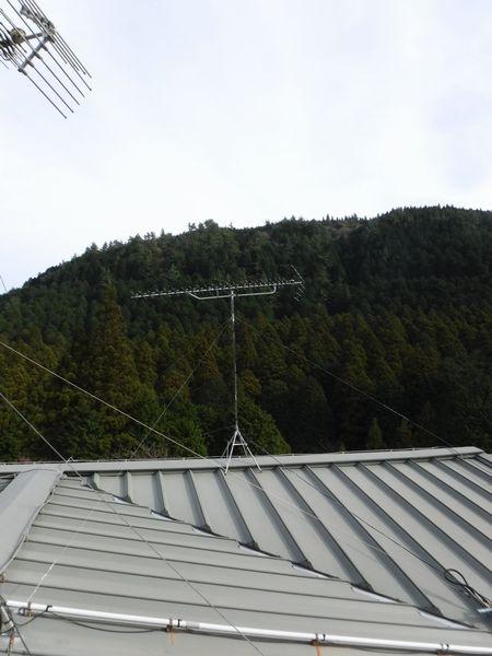 箱根町小涌谷ホテルアンテナ工事