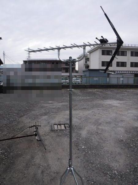 三島市多呂地デジアンテナ工事