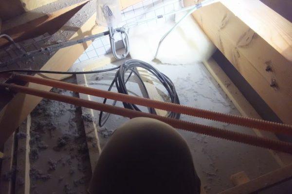 裾野市富沢平面アンテナ工事