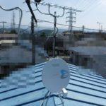 三島市幸原アンテナ建て替え工事